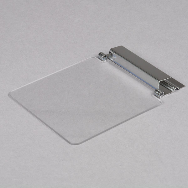 Cal-Mil 1807 Solid Glass Lid with Stainless Steel Hinge