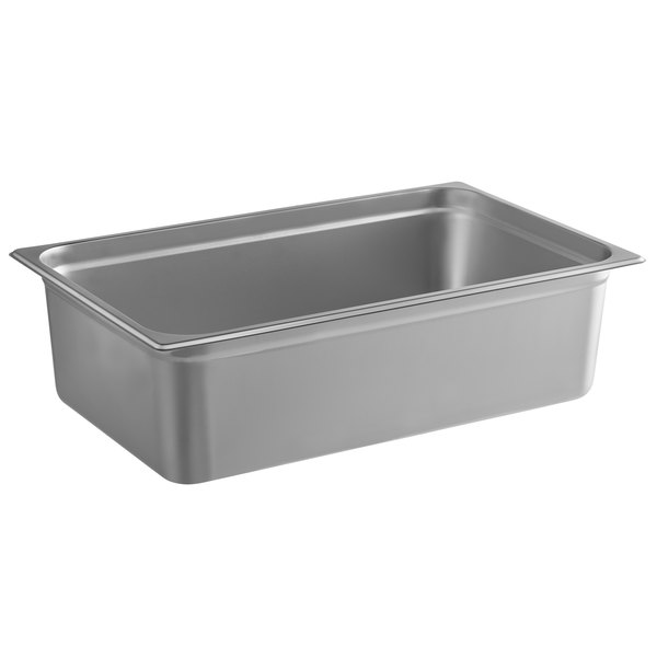 """6 PACK 1//6 Size Stainless Steel Steam Prep Table Pan Commercial Anti-Jam 6/"""" Deep"""