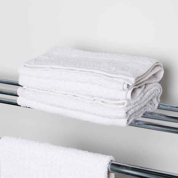 """24"""" x 50"""" 100% Open End Cotton Hotel Bath Towel 10.5 lb. - 12/Pack"""