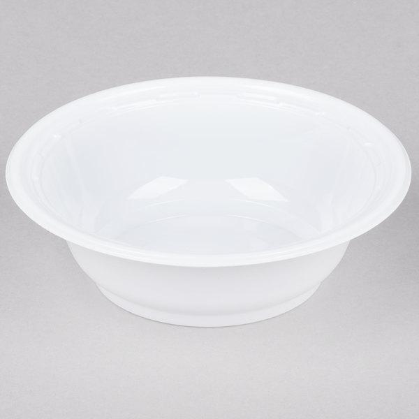 Dart 12BWWF 12 oz. White High Impact Plastic Bowl - 1000/Case