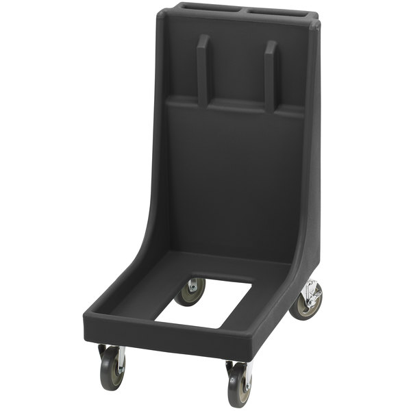 Cambro CD300H Black Camdolly for Cambro Camtainers and Camcarriers with Handle