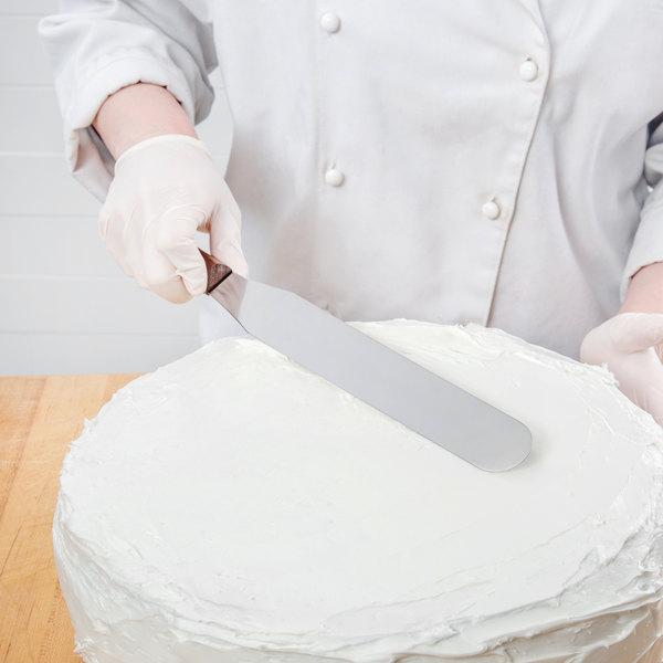 "Victorinox 40394 10"" Baking / Icing Spatula with Rosewood Handle"