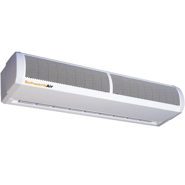 "Schwank AC-CE45-20 45"" Surface Mounted Air Curtain with Electric Heater - 208V, 3 Phase, 4.5 / 9 kW"