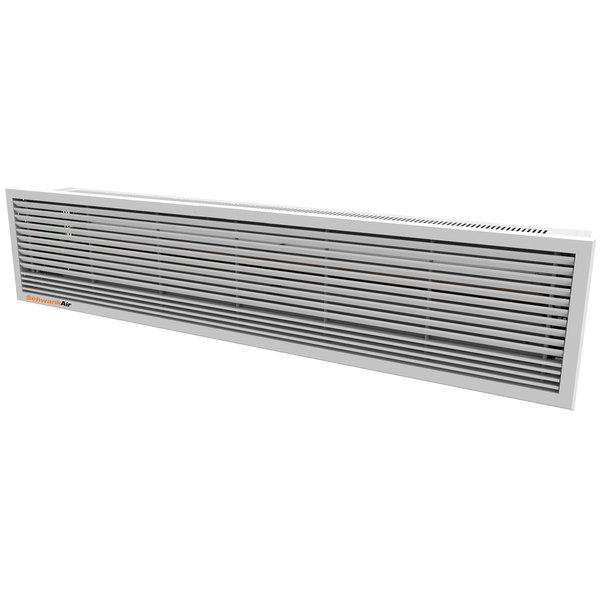 """Schwank AC-CE47-20-R 47"""" Recessed Air Curtain with Electric Heater - 208V, 3 Phase, 4.5 / 9 kW"""