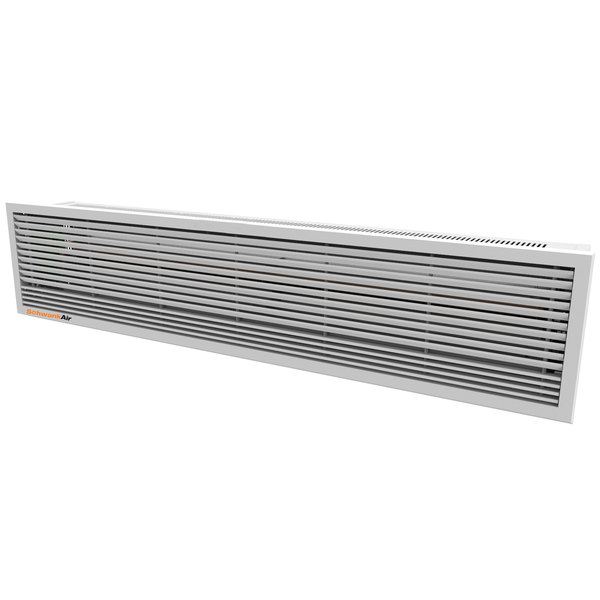 """Schwank AC-CE63-48-R 63"""" Recessed Air Curtain with Electric Heater - 480V, 3 Phase, 6 / 12 kW"""