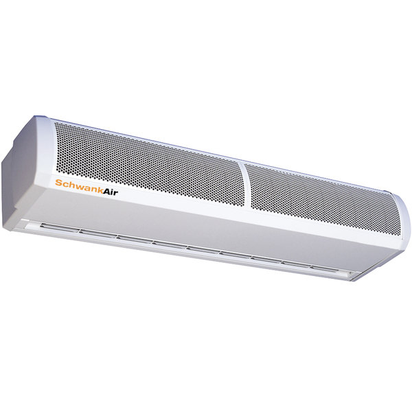 """Schwank AC-CE66-60 66"""" Surface Mounted Air Curtain with Electric Heater - 600V, 3 Phase, 6 / 12 kW"""