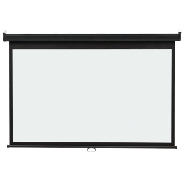 """Quartet 85571 45"""" x 80"""" White Wide Format Wall Mount Projection Screen"""