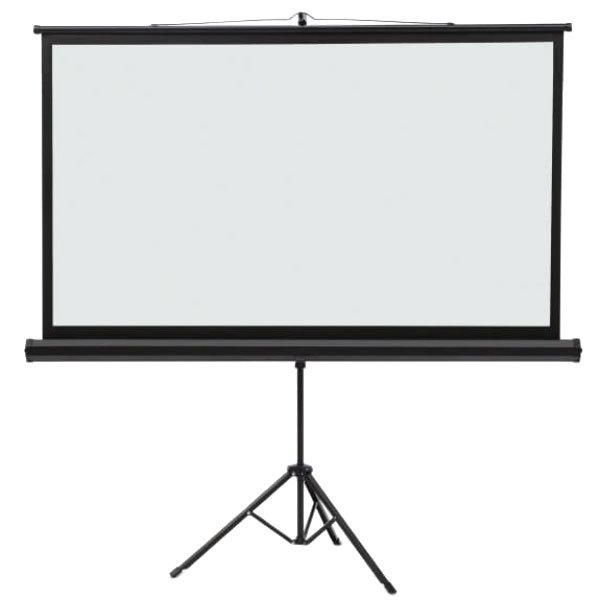 "Quartet 85568 52"" x 92"" White Wide Format Tripod Projection Screen"