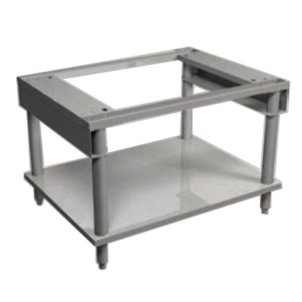 """MagiKitch'n MK5225-1512011-C 72"""" x 26 1/2"""" Stainless Steel Equipment Stand with Undershelf Main Image 1"""