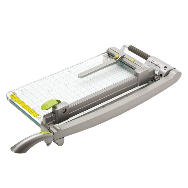 """Swingline 99420 16 1/4"""" x 8 1/8"""" CL420 25 Sheet Infinity Guillotine Paper Trimmer"""