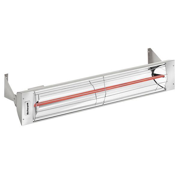 Schwank ES-1533-12 Electric Stainless Steel Outdoor Patio Heater - 120V, 1500W