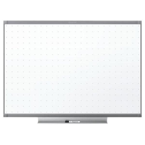 "Quartet TE547GP2 72"" x 48"" Prestige 2 Total Erase Dry Erase Board with Grey Frame"