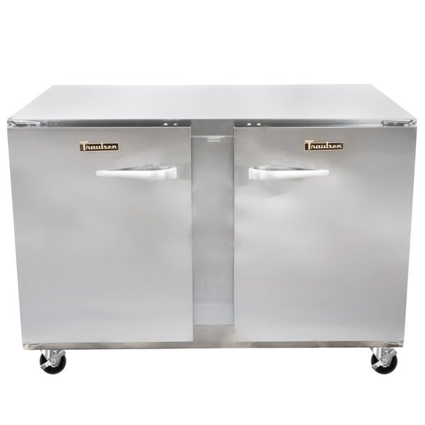 """Traulsen UHT48-LR 48"""" Undercounter Refrigerator with Left and Right Hinged Doors"""