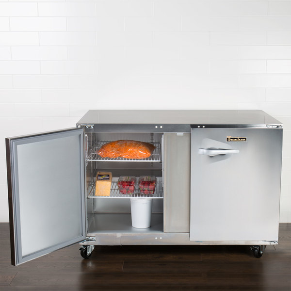 """Traulsen UHT48-LR 48"""" Undercounter Refrigerator with Left and Right Hinged Doors Main Image 4"""