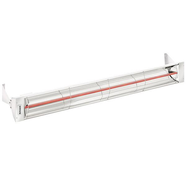 Schwank ES-3061-24 Electric White Indoor/Outdoor Patio Heater - 240V, 3000W