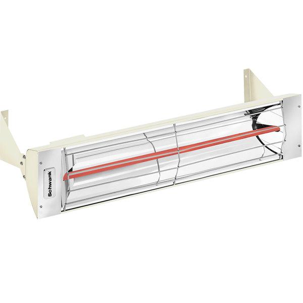 Schwank ES-0519-12 Electric Almond Outdoor Patio Heater - 120V, 500W Main Image 1