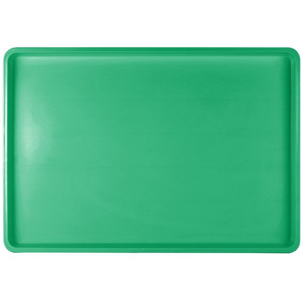 "Winholt WHP-1826GABS Green Polystyrene Display Tray - 18"" x 26"""