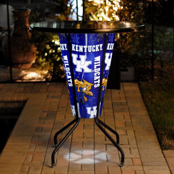 "Holland Bar Stool L218B42Kentky36RUKY-UK-D2 University of Kentucky 36"" Round Bar Height LED Pub Table Main Image 8"