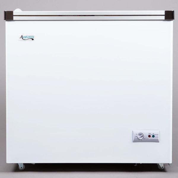 Avantco ICFF7-HC 33 7/8 inch Flat Top Display Freezer