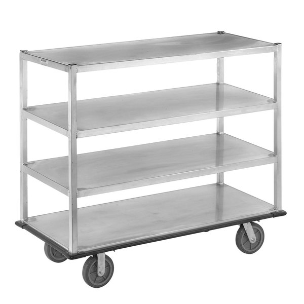 Channel QMA2860-4 Queen Mary Banquet Service Cart with 4 Shelves