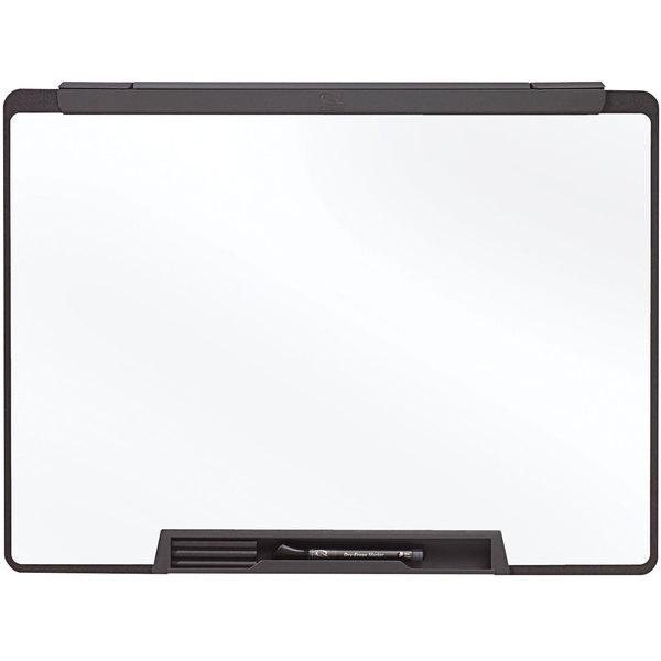 "Quartet MMP25 Motion 24"" x 18"" Portable Melamine Whiteboard with Black Frame Main Image 1"