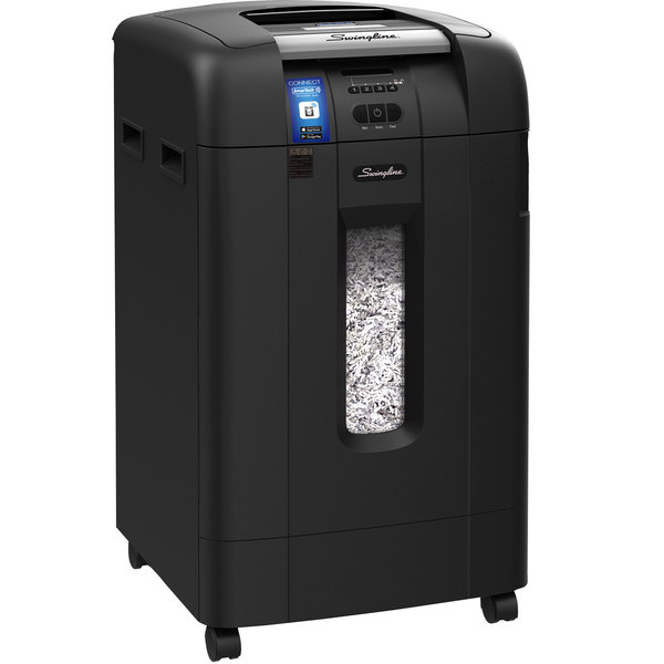 Swingline 1757578 Stack-and-Shred 750X Auto Feed Super Cross-Cut Shredder Main Image 1