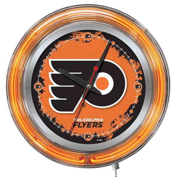 "Holland Bar Stool Clk15PhiFly Philadelphia Flyers 15"" Neon Clock Main Image 1"