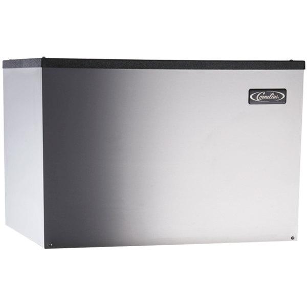 "Cornelius CCM0530WF1 Nordic Series 30"" Water Cooled Full Size Cube Ice Machine - 613 lb."