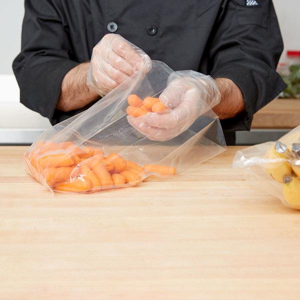 "LK Packaging 15G-063012 Plastic Food Bag 6"" x 3"" x 12"" - 1000/Box Main Image 3"