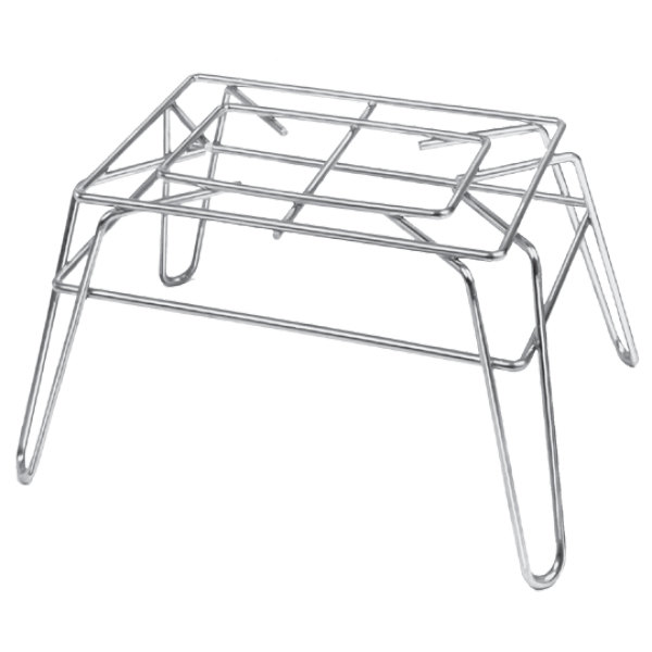 """Channel WDS1410 Chrome Plated Display Stand - 10"""" x 14"""" x 8"""""""