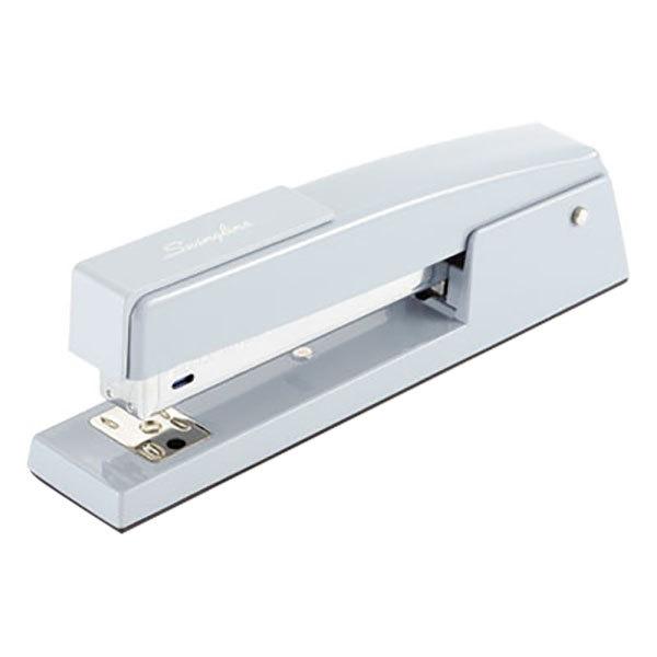 Swingline 74722 747 Business 25 Sheet Sky Blue Full Strip Desk Stapler Main Image 1