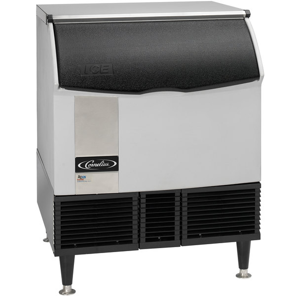 "Cornelius CCU0300AH12 Nordic Series 30"" Air Cooled Undercounter Half Size Cube Ice Machine - 309 lb. Main Image 1"