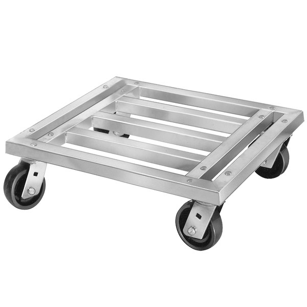 """Channel MD2024 24"""" x 20"""" Mobile Aluminum Dunnage Rack - 1200 lb."""