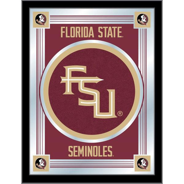 "Holland Bar Stool MLogoFSU-FS 17"" x 22"" Florida State University Decorative Logo Mirror"