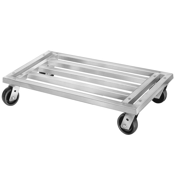 "Channel MD2042 42"" x 20"" Mobile Aluminum Dunnage Rack - 1200 lb. Main Image 1"