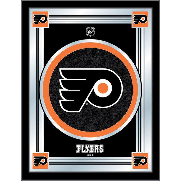 "Holland Bar Stool MLogoPhiFly 17"" x 22"" Philadelphia Flyers Decorative Logo Mirror"