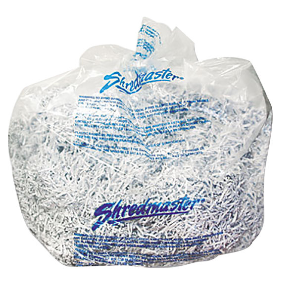 Swingline 1765010 13-19 Gallon Shredder Bags - 25/Box Main Image 1