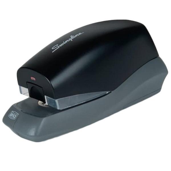 Swingline 42132 Breeze 20 Sheet Black Full Strip Automatic Stapler Main Image 1