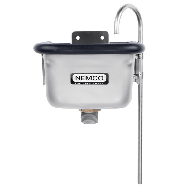 "Nemco 77316-7A 7"" Ice Cream Dipper Well and Faucet Set"