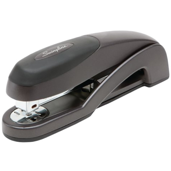 Swingline 87800 Optima 25 Sheet Graphite Black Full Strip Desk Stapler Main Image 1