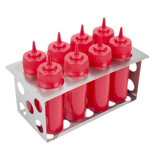 Eagle Group SBH-1/3 Stainless Steel 8 Bottle Organizer