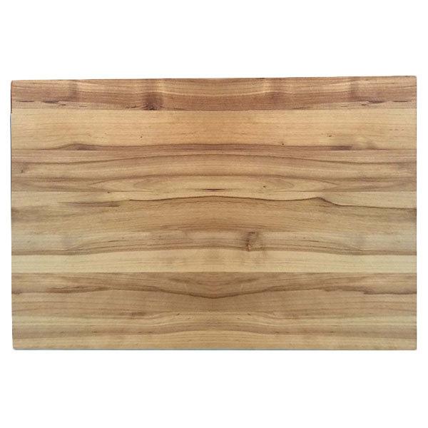 "Tablecraft CBW1520175 20"" x 15"" x 1 3/4"" Wooden Butcher Board Chopping Block Main Image 1"