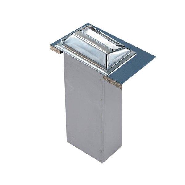 San Jamar H2000SS In-Counter Minifold Napkin Dispenser - Stainless Steel
