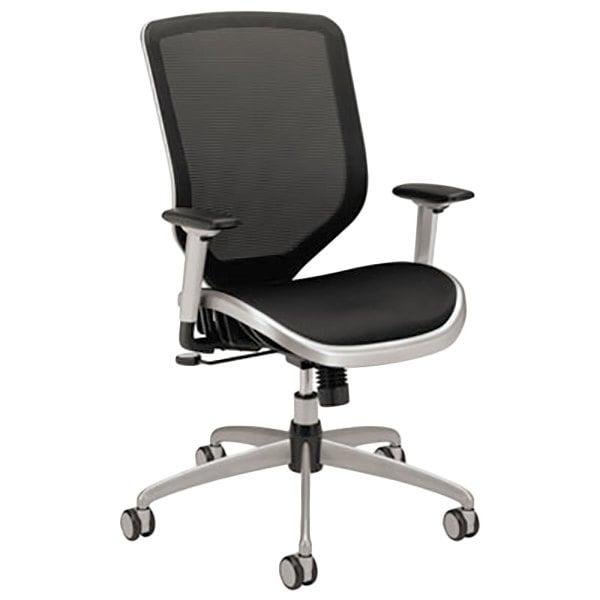 HON MH02MST1C Boda High-Back Black Mesh Task Chair Main Image 1