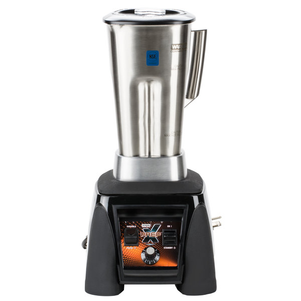 Waring MX1200XTS X-Prep 3 1/2 hp Commercial Blender with Adjustable Speed / Paddle Switches and 64 oz. Stainless Steel Container