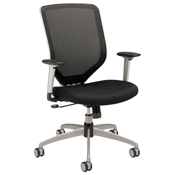 HON MH01MM10C Boda High-Back Black Mesh Task Chair