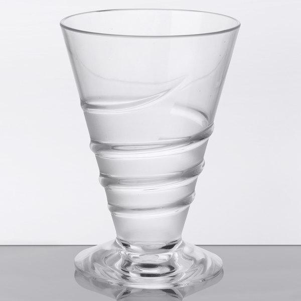 GET ICM-28-CL Cheers 14 oz. SAN Plastic Cocktail Glass - 24/Case Main Image 1