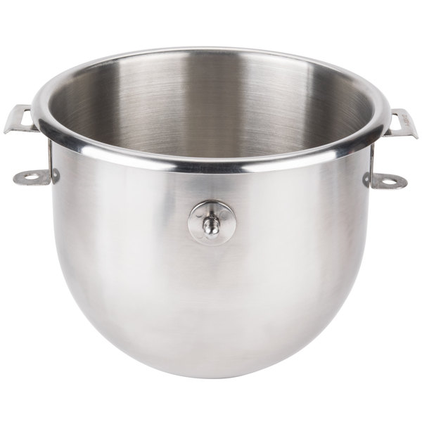 Hobart BOWL-SST112 Classic 12 Qt. Stainless Steel Mixing Bowl