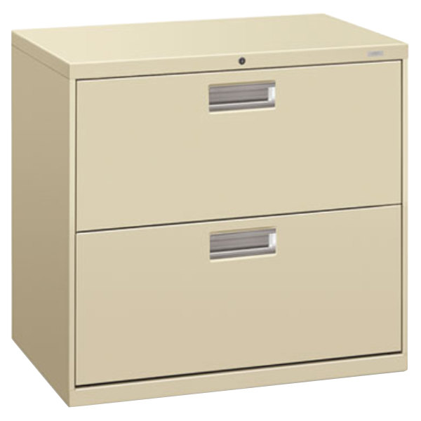 hon lateral file cabinet hon 672ll 600 series putty two drawer lateral filing 16592