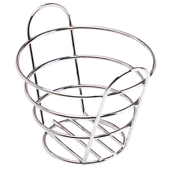 Clipper Mill By Get 4 22782 Wire Baskets Chrome Plated Metal